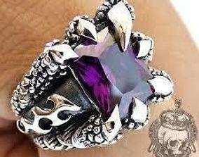 3D print model claw ring