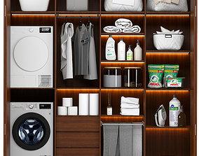 3D model dryer laundry