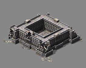 Different dimension - architecture - ruins 03 3D model
