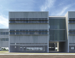 Office building - High-tech university 3D asset