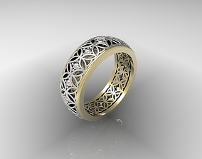 3D print model Ring Wedding cad