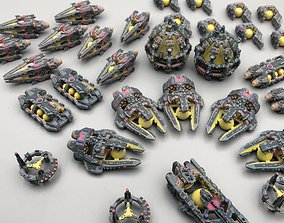 Twilight Imperium ships Embers of Muaat 3D printable model
