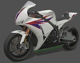Honda CBR1000RR 3D asset VR / AR ready