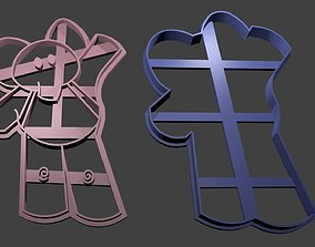 Ely Cookie Cutter 3D printable model