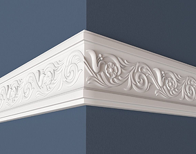 Frieze 3D carved