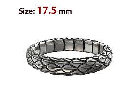 Snake large texture ring 3D print model