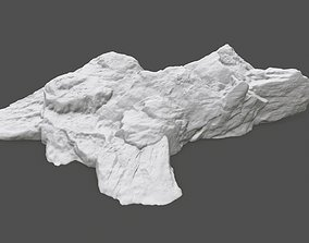 3D printable model rock 3