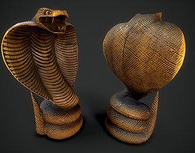 3D asset Wooden Cobra