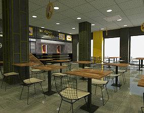 Turkish Doner Restaurant 3D model