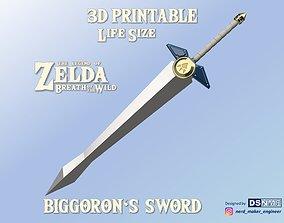 3D printable model Biggoron Sword from Zelda Breath of 4