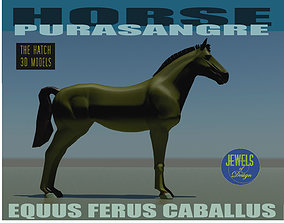 mammal 3D model realtime Horse