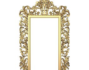 Carved Picture Frame retro 3D