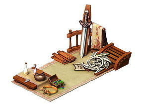 Game Model - City - Small Booth
