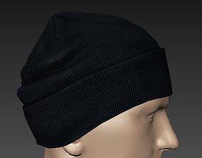 3D asset Knitted Cap