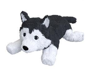 LIVLIG Soft toy dog siberian husky 3D