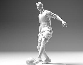 Footballer 02 Footstrike 02 Stl 3D print model