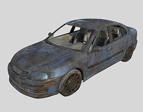 Abandoned Car 06 3D