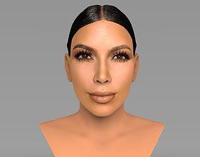 Kim Kardashian bust ready for full color 3D printing