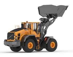 3D model Volvo L260H Wheel Loader