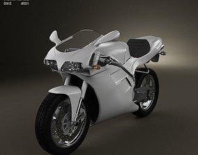 3D model Ducati 748 Sport Bike
