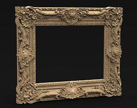 Frame Relief 8 3D Model
