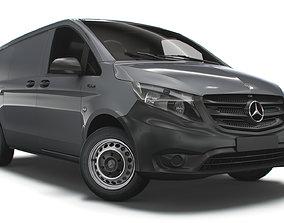 3D Mercedes Benz E Vito L2 Electric 2020
