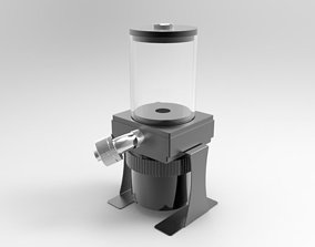 Bitspower D5 Pump Top 80mm Reservoir 3D model