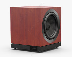 Bowers and Wilkins DB1D Rosenut 3D model
