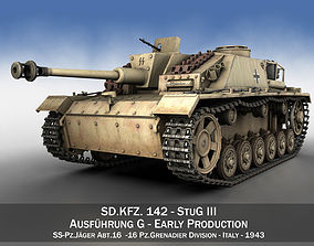 StuG III - Ausf G - Early Production 3D