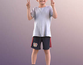 3D model 10262 Thilo - Young Boy At A Stadium