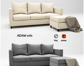 Adam sofa 3D