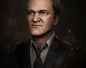 Quentin Tarantino 3D printable model