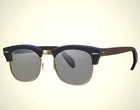 glasses ray ban 3D