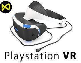 Sony Playstation VR 2016 Headset 3D model