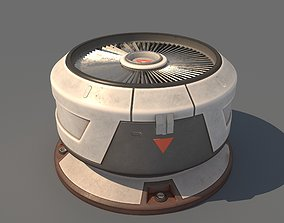 SciFi Roof Unit 3D