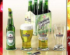 3D model Heineken Beer Collection