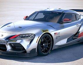 Toyota Supra GT4 2020 3D