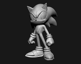 3D printable model Sonic Fan Art