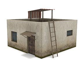 3D model Arab House - Low Poly