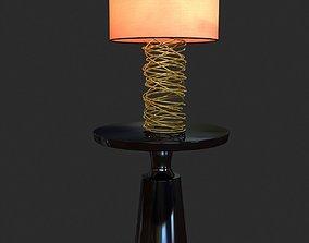 3D model Ralph Pucci Table Lighting Tornado lamp