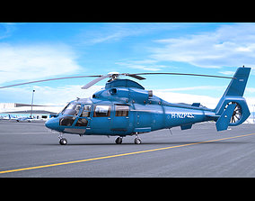 3D Eurocopter AS-365 Dauphin