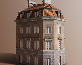 3D model European tenement 01
