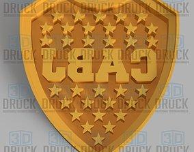3D print model Boca Junior Football Club Cookie Cutter
