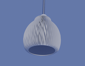 Lamp shade - NATURE SERIES - table or 3D print model 4