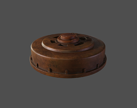3D Anti-Tank Land Mine