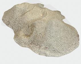 Pile Sand 01 3D asset