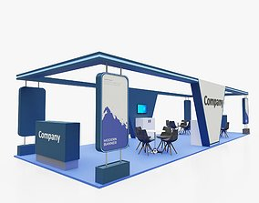 Exhibition stand 10 3D pop-up