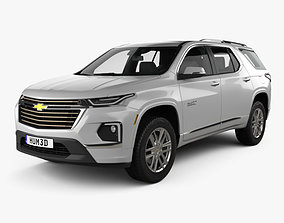 Chevrolet Traverse High Country 2020 3D