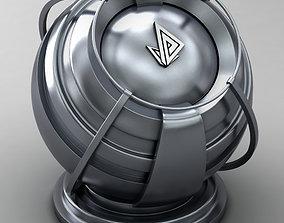 VRAY SHADER---METAL---Gadolinium 3D