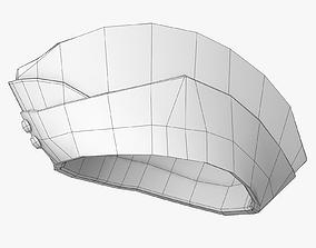 Glengary Hat Lowpoly 3D model